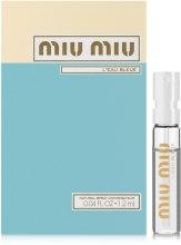 Духи, Парфюмерия, косметика Miu Miu L'Eau Bleue - Парфюмированная вода (пробник)