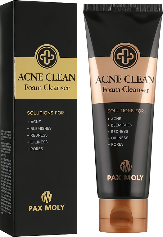Пенка для лица антиакне - Pax Moly Acne Clean Foam Cleanser