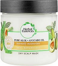 Духи, Парфюмерия, косметика Маска для волос - Herbal Essences Pure Aloe And Avocado Oil Dry Scalp Mask
