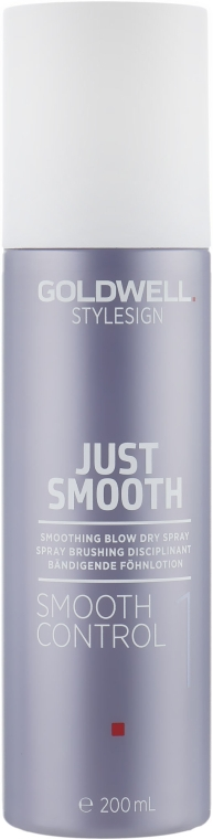 Разглаживающий спрей для укладки - Goldwell Stylesign Just Smooth Smooth Control