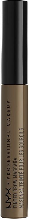 Оттеночный гель для бровей - NYX Professional Makeup Tinted Eyebrow Mascara Gel