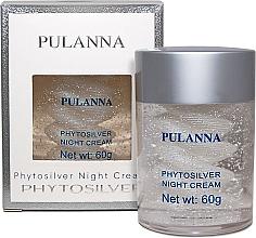 Духи, Парфюмерия, косметика Ночной крем для лица на основе серебра - Pulanna Phytosilver Night Cream