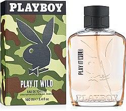 Духи, Парфюмерия, косметика Playboy Play It Wild for Him - Туалетная вода