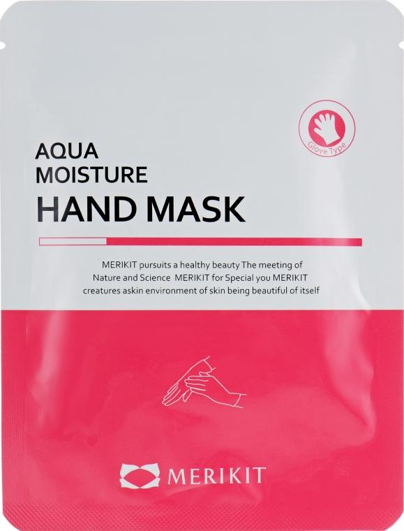 Увлажняющая маска для рук - Merikit Aqua Moisture Hand Mask