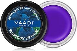 Духи, Парфюмерия, косметика Бальзам для губ с черникой - Vaadi Herbals Blueberry Lip Balm