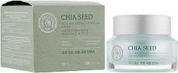 Духи, Парфюмерия, косметика Интенсивный крем для лица - The Face Shop Chia Seed No Shine Intense Hydrating Cream