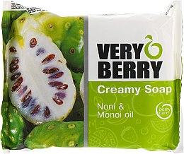 "Духи, Парфюмерия, косметика Крем-мыло ""Нони и масло монои"" - Very Berry Noni & Monoi Oil Cremy Soap"