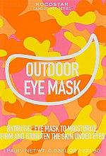 Духи, Парфюмерия, косметика Гидрогелевые патчи для глаз на тканевой основе - Kocostar Camouflage Hydrogel Eye Mask