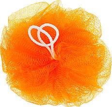 "Парфумерія, косметика Мочалка для душу ""Бантик"", помаранчева - Avrora Style"