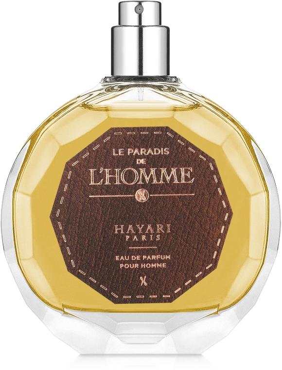 Hayari Parfums Le Paradis de L'Homme - Парфюмированная вода (тестер без крышечки)