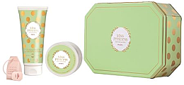 Духи, Парфюмерия, косметика Pupa Miss Princess Kit Medium 1 Green Tea - Набор(sh/milk/200ml + b/cr/100ml + infusore)