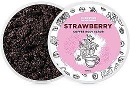 """Парфумерія, косметика Кавовий скраб для тіла """"Strawberry"""" - SHAKYLAB Coffee Scrub Strawberry"""