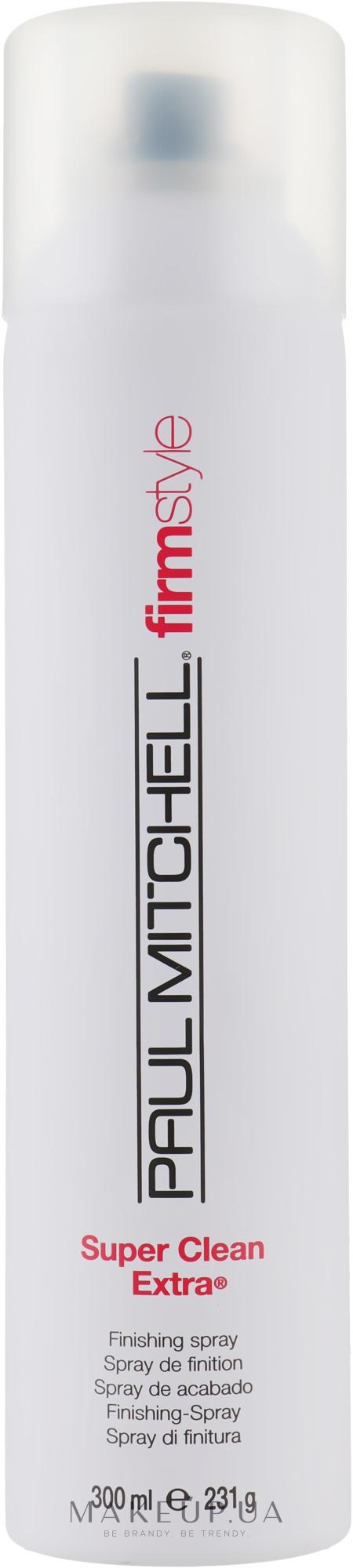 Лак сильної фіксації - Paul Mitchell Firm Style Super Clean Extra — фото 300ml
