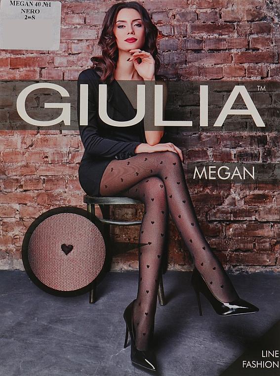 """Колготки """"Megan 01"""" 40 Den, nero - Giulia"""