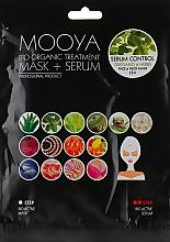 Духи, Парфюмерия, косметика Маска + сыворотка с экстрактами орегано и трав - Beauty Face Mooya Bio Organic Treatment Mask + Serum