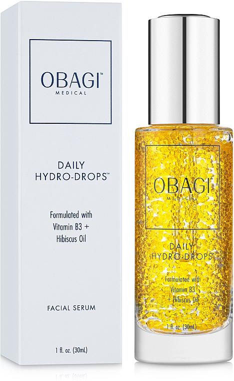 Увлажняющая сыворотка с маслом гибискуса и витамином В3 - Obagi Medical Daily Hydro-Drops