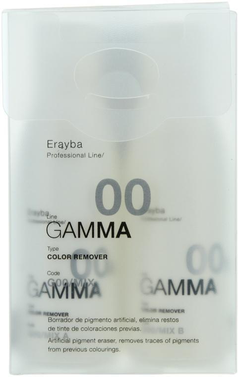 Средство для удаления искусственного пигмента - Erayba G00 Color Remover Mix