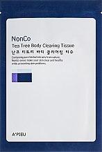 Духи, Парфюмерия, косметика Салфетки для очистки тела с маслом чайного дерева - A'PIEU Nonco Tea Tree Body Clearsing Tissue