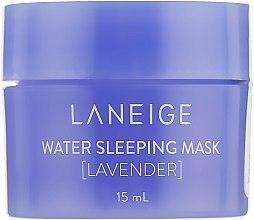 Духи, Парфюмерия, косметика Увлажняющая ночная маска для лица с лавандой - Laneige Water Sleeping Mask Lavender Miniature (мини)