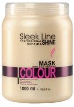 Духи, Парфюмерия, косметика Маска для окрашенных волос - Stapiz Sleek Line Colour Mask