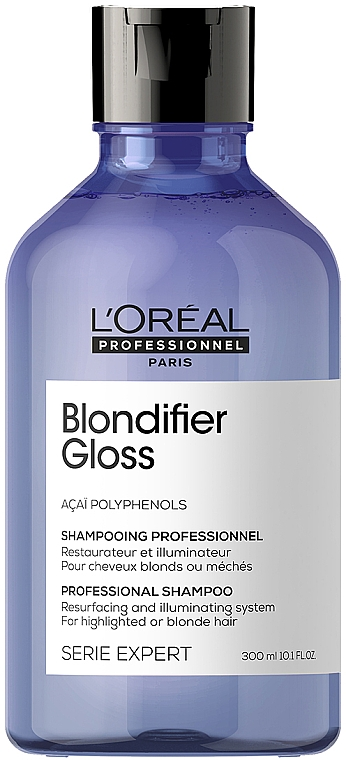 Шампунь для сияния волос, окрашенных в оттенки блонд - L'Oreal Professionnel Serie Expert Blondifier Gloss Shampoo