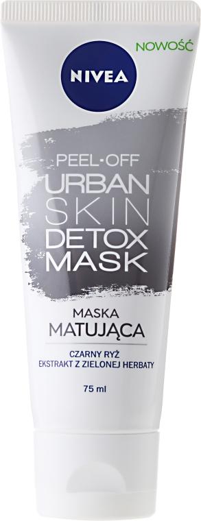 Маска-пленка для лица - Nivea Urban Skin Detox Peel-Off Mask — фото N1