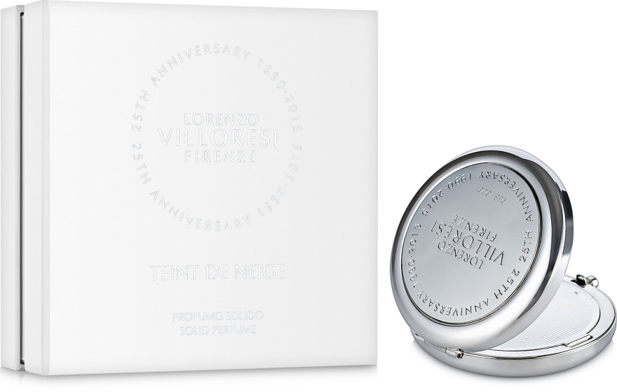 Lorenzo Villoresi Teint de Neige - Твердый парфюм