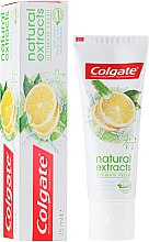 "Зубная паста ""Безупречная свежесть"" - Colgate Natural Extracts Ultimate Fresh Lemon — фото N1"