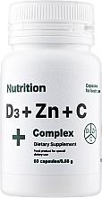 Духи, Парфюмерия, косметика Витаминно-минеральный комплекс D3 + Zinc + С Complex+, в капсулах - EntherMeal