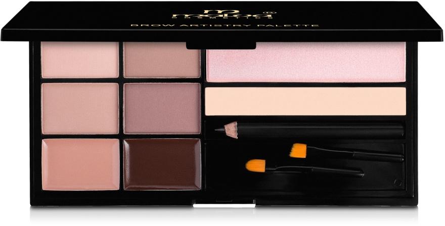 Косметический набор для бровей - Malva Cosmetics Brow Artistry Palette