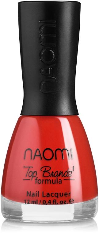 Декоративный лак для ногтей - Naomi Nail Polish Tint Collection