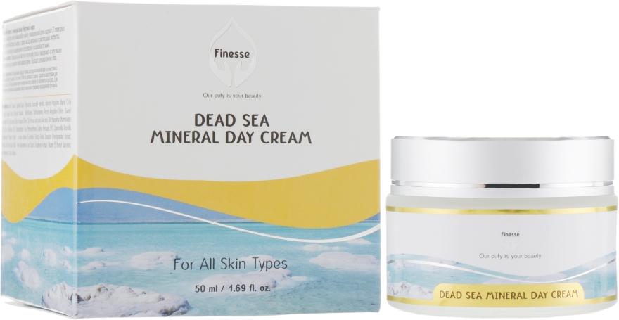 Дневной увлажняющий крем с минералами Мертвого моря - Finesse Mineral Day Cream
