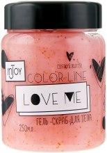 """Гель-скраб """"Love Me"""" - inJoy Color Line Love Me  — фото N2"""
