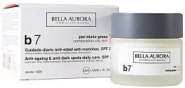 Духи, Парфюмерия, косметика Крем против пятен для комбинированой и жирной кожи - Bella Aurora B7 Combination/Oily Skin Daily Anti-Dark Spot Care