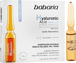 Духи, Парфюмерия, косметика Ампула с гиалуроновой кислотой - Babaria Hyaluronic Acid Ampoule