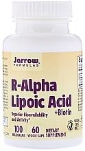 Духи, Парфюмерия, косметика Альфа-липоевая кислота с биотином - Jarrow Formulas R-Alpha Lipoic Acid + Biotin