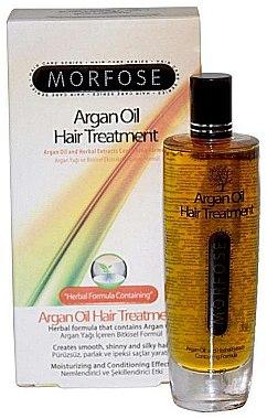 Аргановое масло для волос - Morfose Argan Oil Hair Treatment