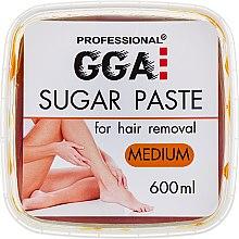 Духи, Парфюмерия, косметика Паста для шугаринга средней жесткости - GGA Professional Sugar Paste Medium