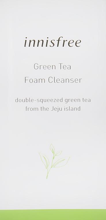 Пенка для умывания с экстрактом зеленого чая - Innisfree Green Tea Foam Cleanser (пробник)
