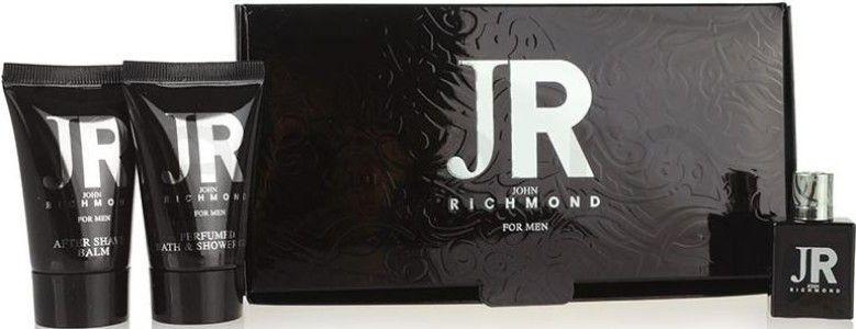 John Richmond JR For Men - Набор (edt/4.5ml + sh/g/25ml + ash/balm/25ml)