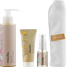 Духи, Парфюмерия, косметика Набор - Resibo Clean Skin (gel/30ml+oil/150ml+tonik/15ml+mini/towel)
