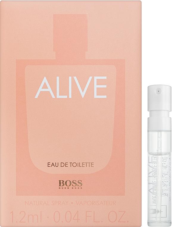 Hugo Boss Boss Alive Eau de Toilette - Туалетная вода (пробник)