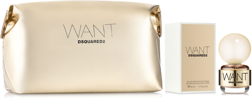 DSQUARED2 Want Set - Набор (edp/50ml + pouch)