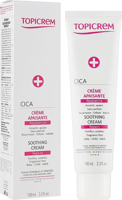 Крем для устранения раздражений - Topicrem CICA Repair Soothing Cream
