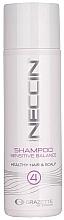 Духи, Парфюмерия, косметика Шампунь для волос - Grazette Neccin Shampoo Sensitive Balance 4