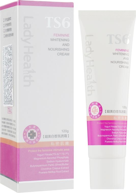 Отбеливающий и питательный крем - TS6 Lady Health Whitening and Nourishing Cream