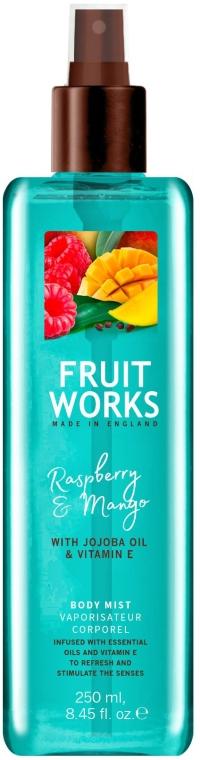 "Спрей для тела ""Малина и манго"" - Grace Cole Fruit Works Raspberry & Mango Body Mist"