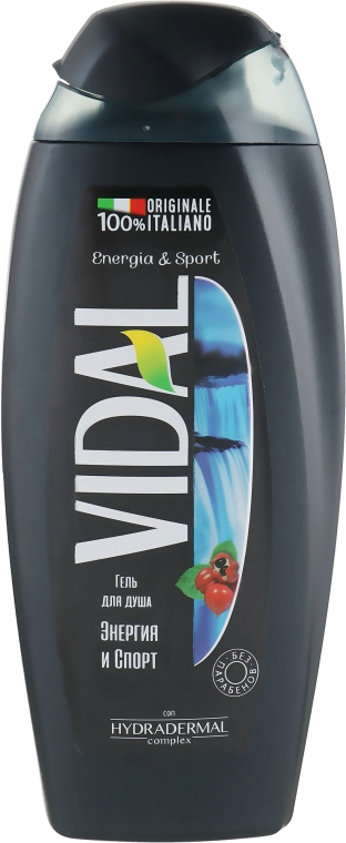 "Гель для душа ""Энергия и спорт"" - Vidal Energia & Sport Shower Gel"