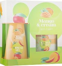 Духи, Парфюмерия, косметика Набор - Liora Emotions Mango&Cream (sh/gel/150ml + b/cr/150ml)