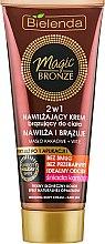 Духи, Парфюмерия, косметика Бронзирующий увлажняющий крем для тела - Bielenda Magic Bronze 2in1 Moisturizing Bronze Cream For Dark Skin